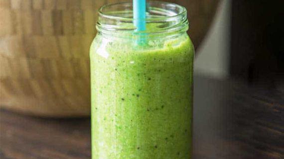 שייק בריאות ספירולינה ירוק